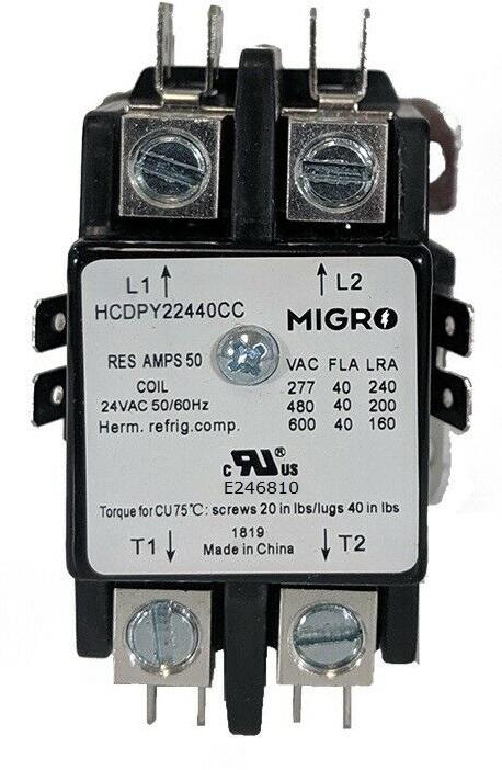30A 40A 50A contactors 3, 4 pole, NO NC lighting contactor