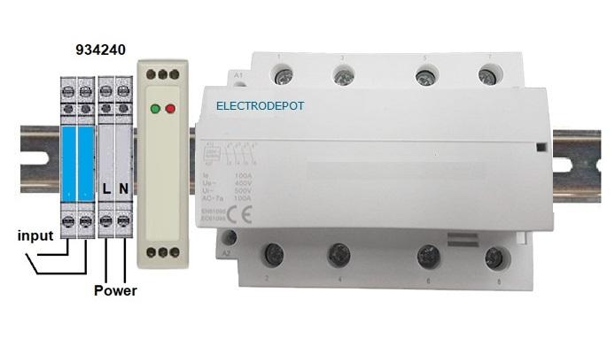 Lighting contactors Mechanical held